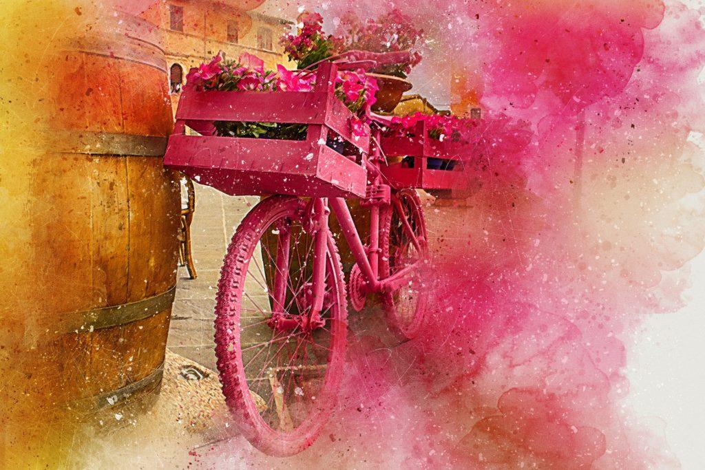 fahrrad bunt wivvica